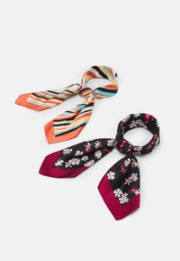 Anna Field - 2 PACK - Foulard - multi-coloured/black - 0