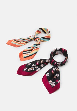 2 PACK - Foulard - multi-coloured/black
