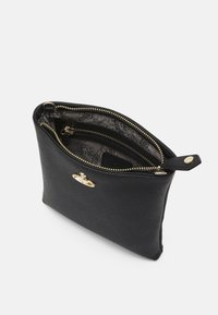 Vivienne Westwood - ORB SQUARE CROSSBODY WITH STRAP UNISEX - Across body bag - black/gold-coloured - 2
