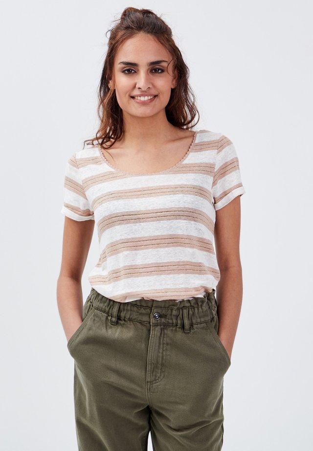 T-Shirt print - taupe