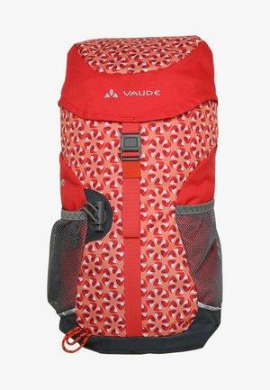 PUCK 10 - Hiking rucksack - salsa/red