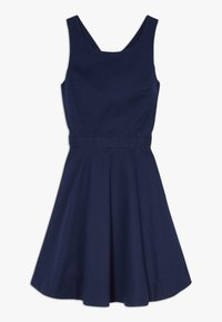 Polo Ralph Lauren - SOLID CROSS DRESSES - Day dress - french navy - 0
