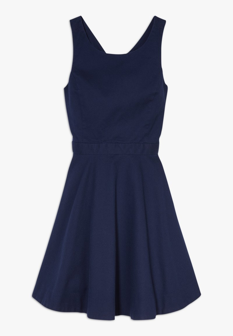 Polo Ralph Lauren - SOLID CROSS DRESSES - Day dress - french navy