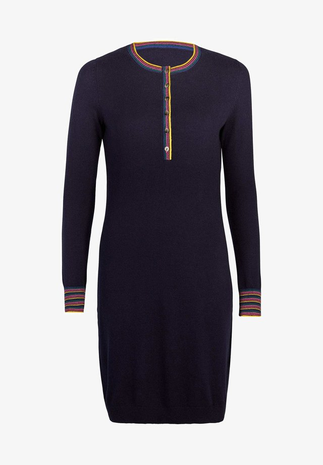 MARLBOROUGH - Jumper dress - navy