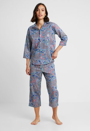 ROLL HIS CAPRI PANT SET - Pyjama - blue