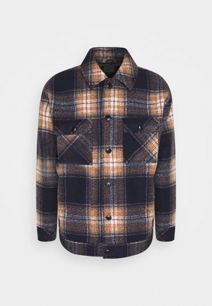 FLECK CHECK OVERSHIRT - Summer jacket - blue