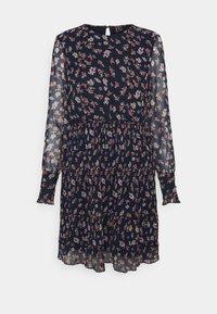 Vero Moda - VMWONDA PLISSE DRESS - Denní šaty - night sky/rona - 4