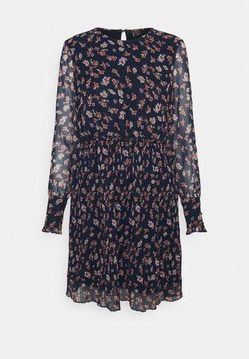 VMWONDA PLISSE DRESS - Day dress - night sky/rona