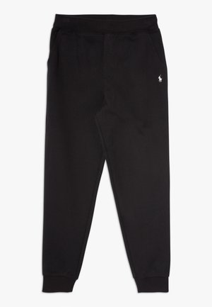 BOTTOMS - Tracksuit bottoms - polo black