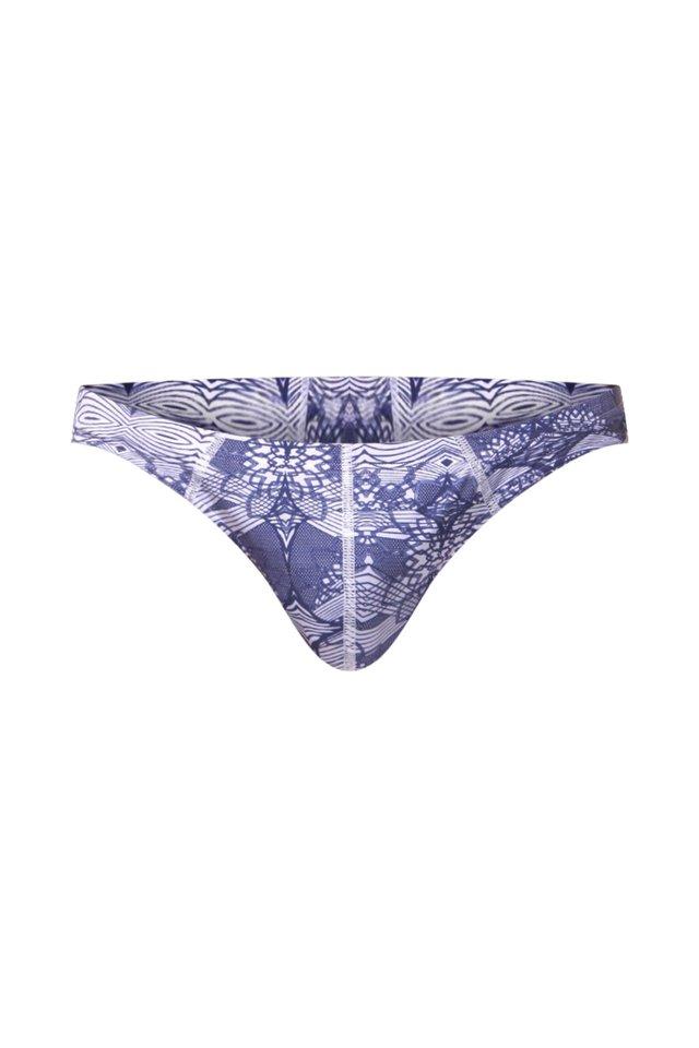 BEACHSTRING - Uimahousut - blau/weiss