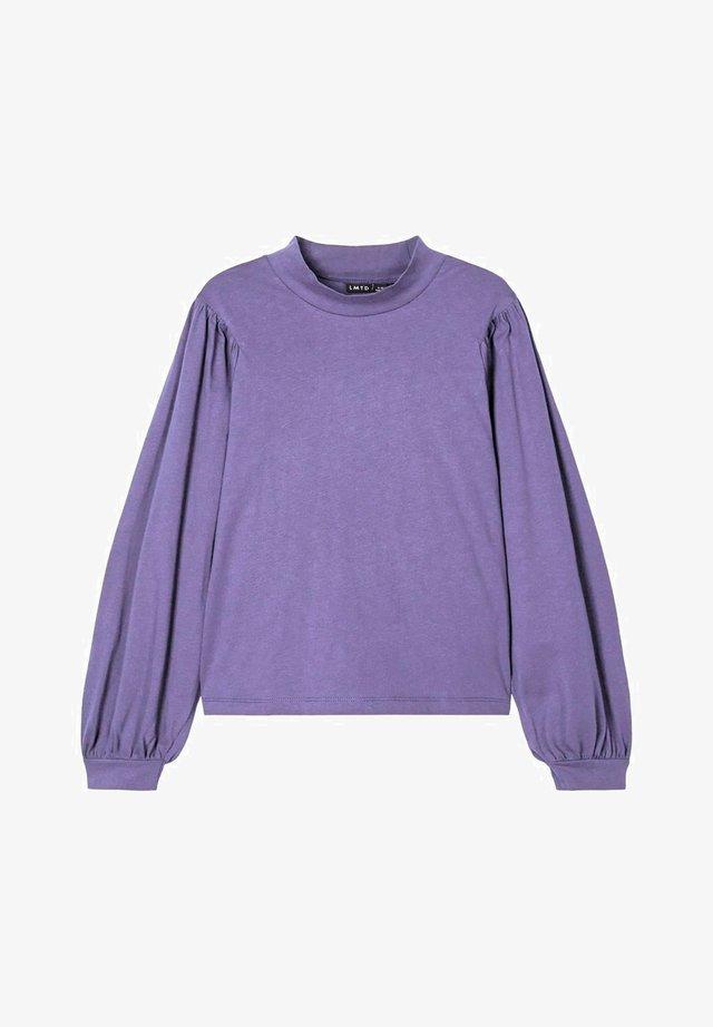 Blouse - aster purple