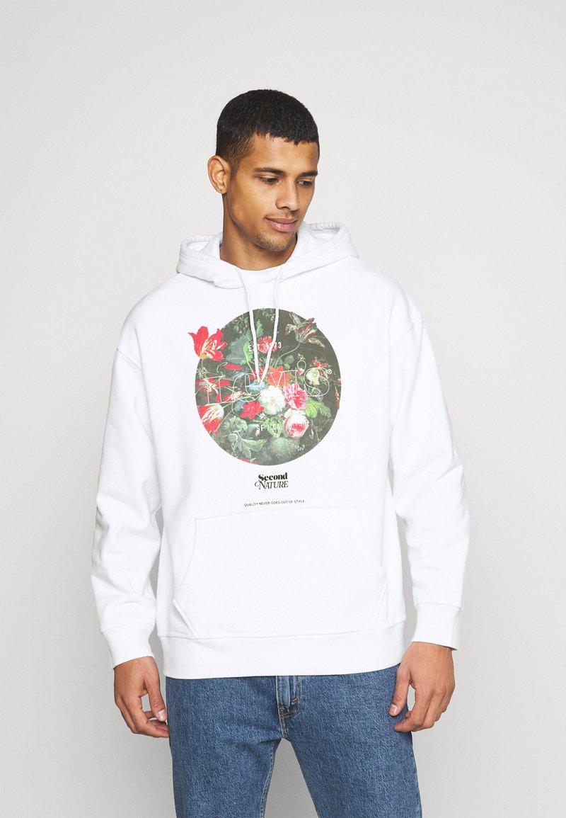 Levi's® - RELAXED GRAPHIC - Bluza z kapturem - neutrals