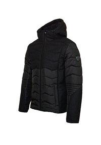 EA7 Emporio Armani - MIT KAPUZE - Winter jacket - black - 2