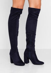 Anna Field - Over-the-knee boots - blue - 0
