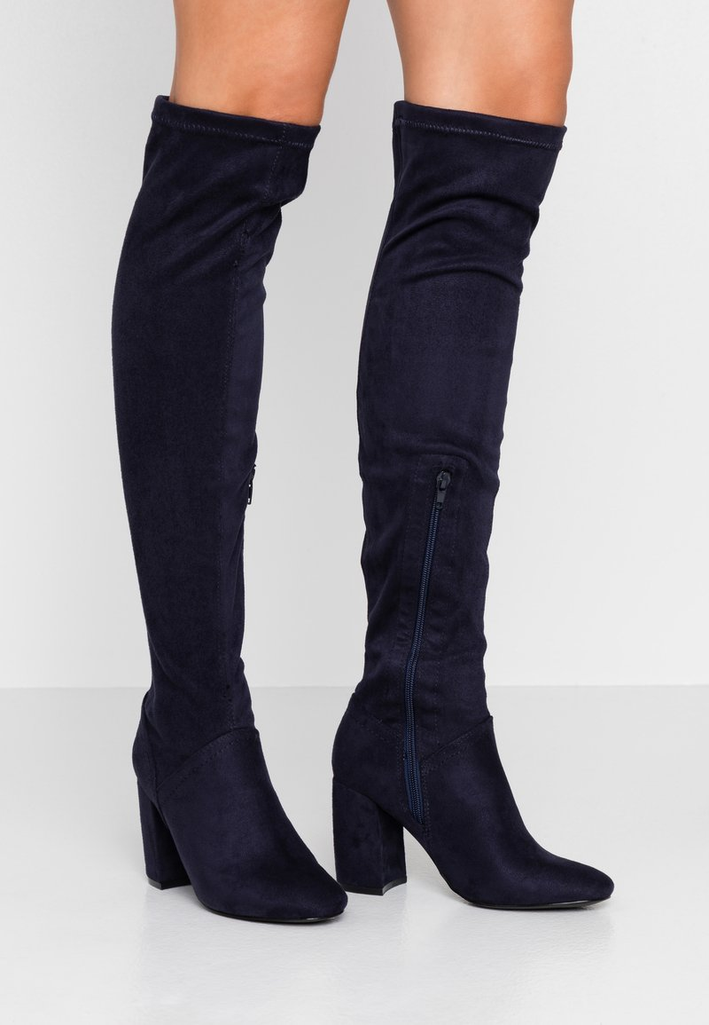 Anna Field - Over-the-knee boots - blue