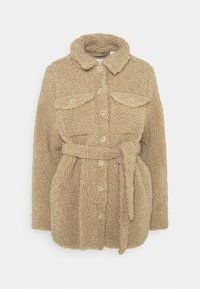 MAMALICIOUS - MLFLOF JACKET - Winter jacket - sesame - 0