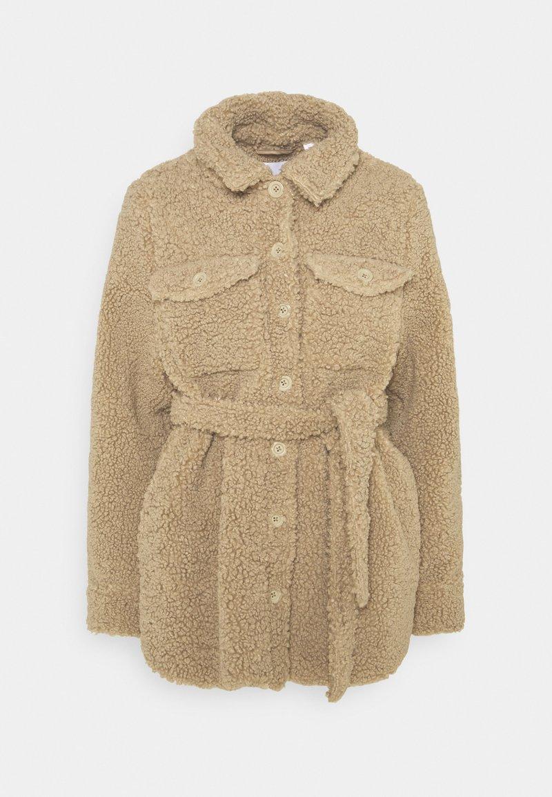 MAMALICIOUS - MLFLOF JACKET - Winter jacket - sesame