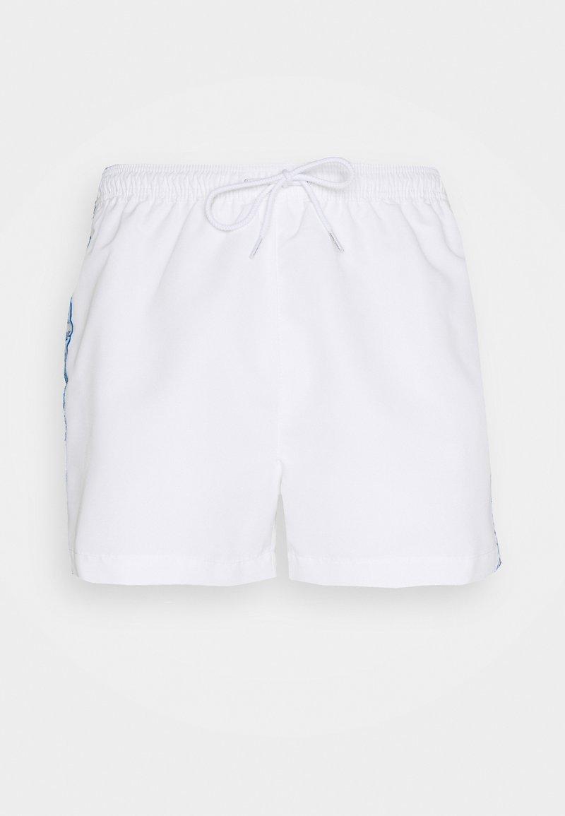 Calvin Klein Swimwear - DRAWSTRING - Badeshorts - white