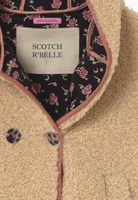 Scotch & Soda - SHORT LENGTH HOOD KEY STYLE - Winter jacket - ecru - 3