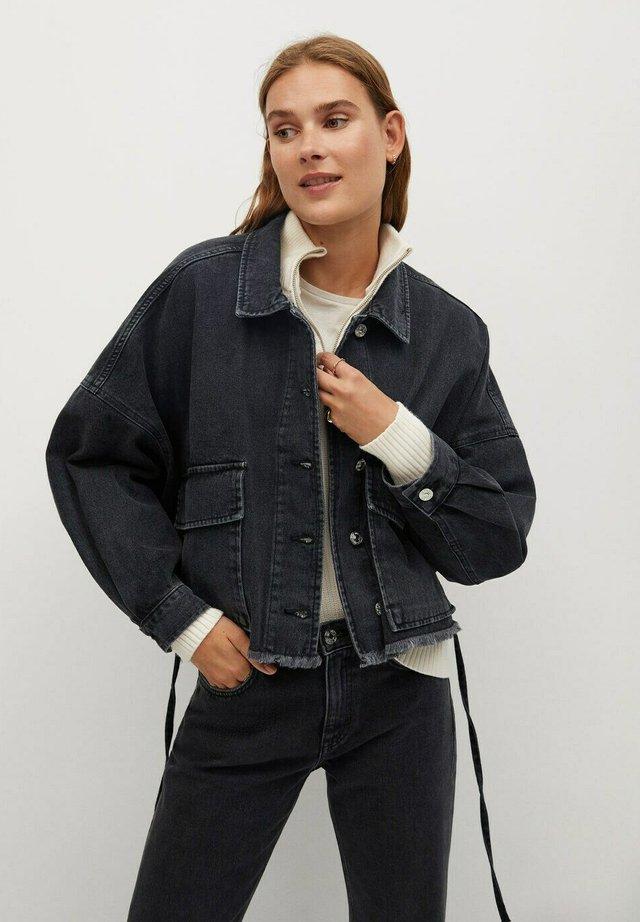 BAY-H - Denim jacket - gris clair denim