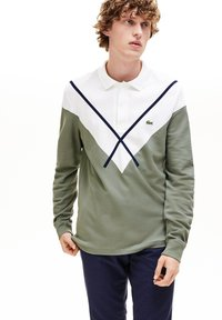 Lacoste - PH8568 - Polo shirt - khaki green/white - 0