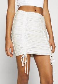 Tiger Mist - ZION SKIRT - Mini skirt - white - 3