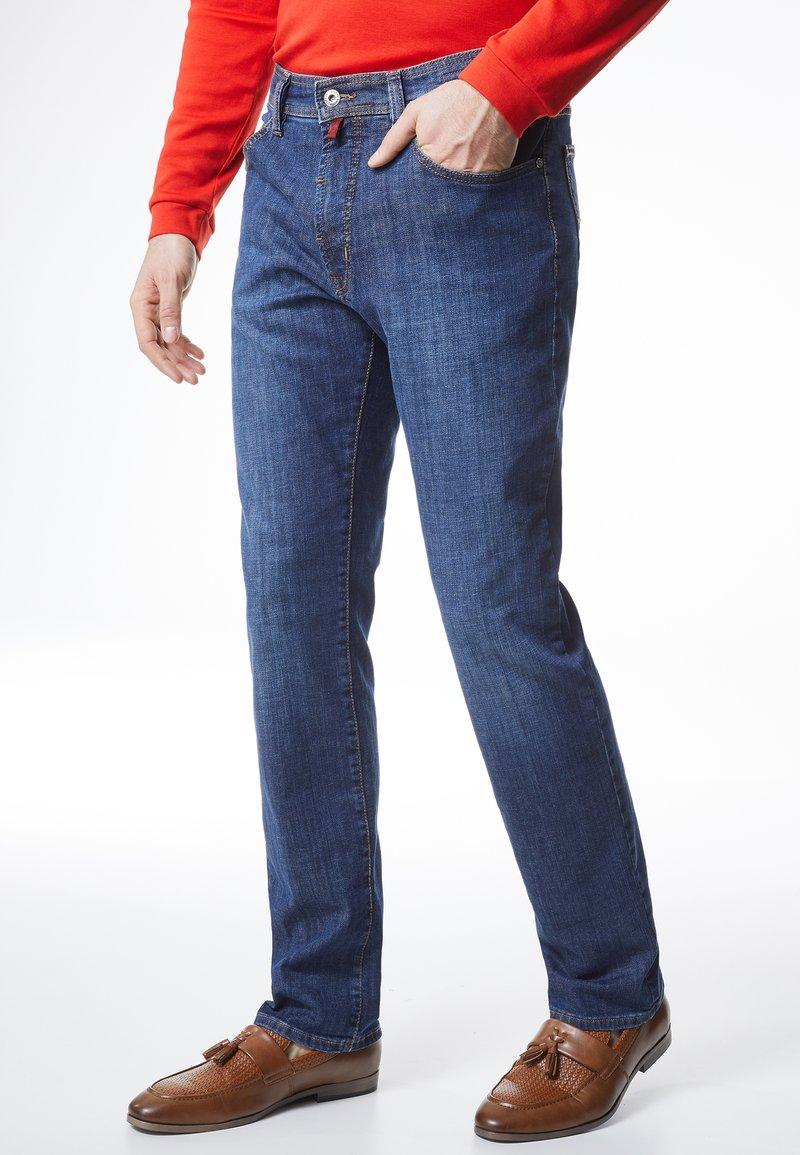 Pierre Cardin - DEAUVILLE REGULAR FIT - Straight leg jeans - darkblue