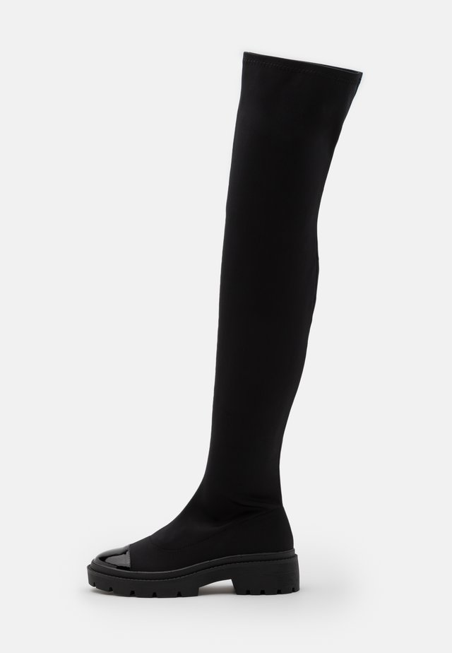 LONG WAY 2 GO KNEE BOOT - Overknees - black