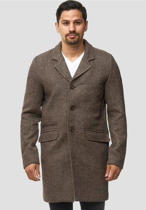 Classic coat - mottled brown