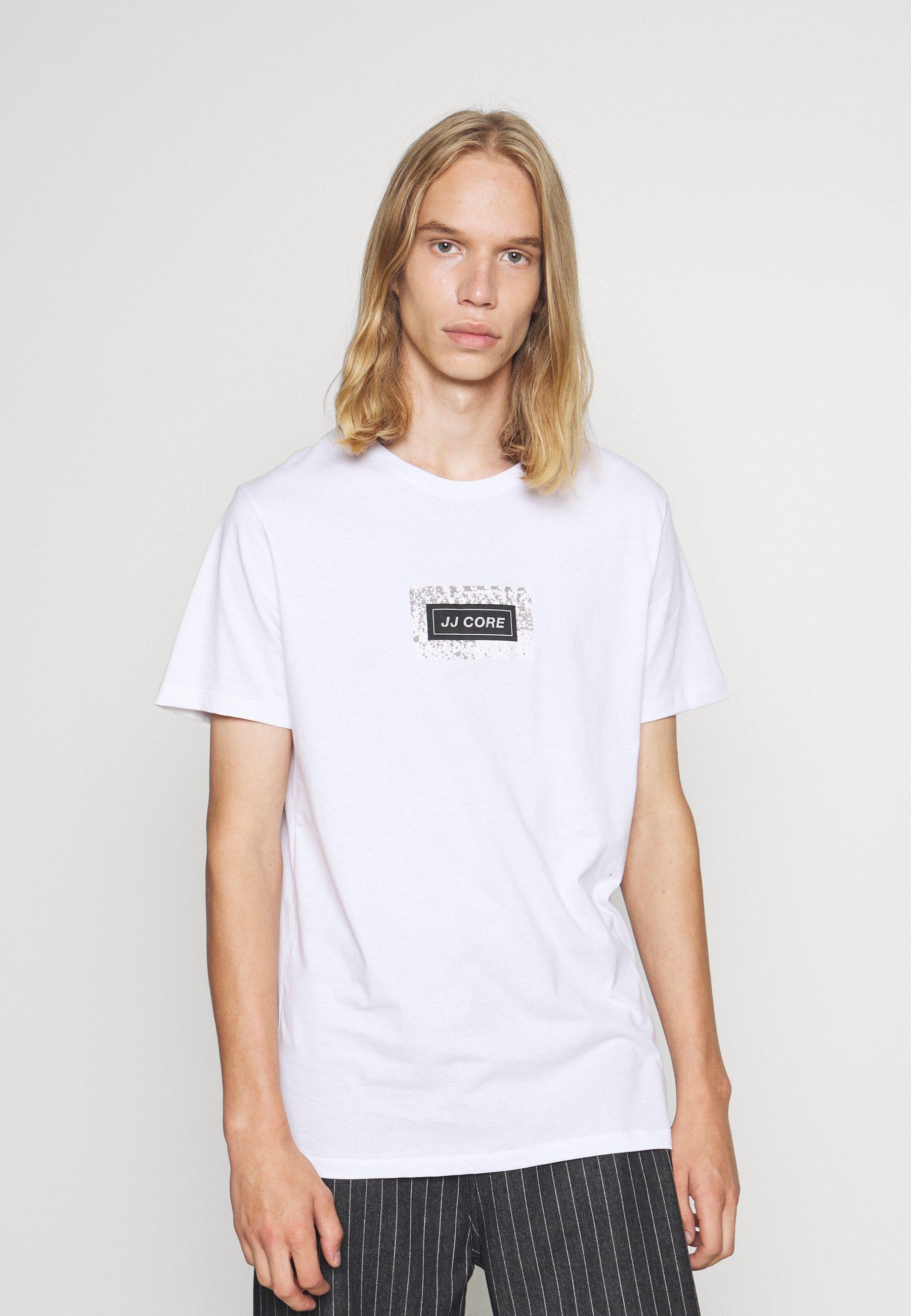 Herren JCOLEAF TEE CREW NECK - T-Shirt print