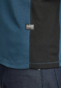 G-Star - MOTO NEOPRENE R T - T-shirt print - luna blue - 4