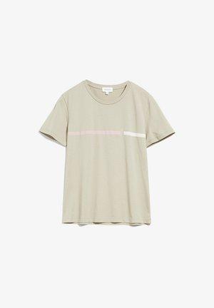 MARAA LOGO LINE - Print T-shirt - birch leaf