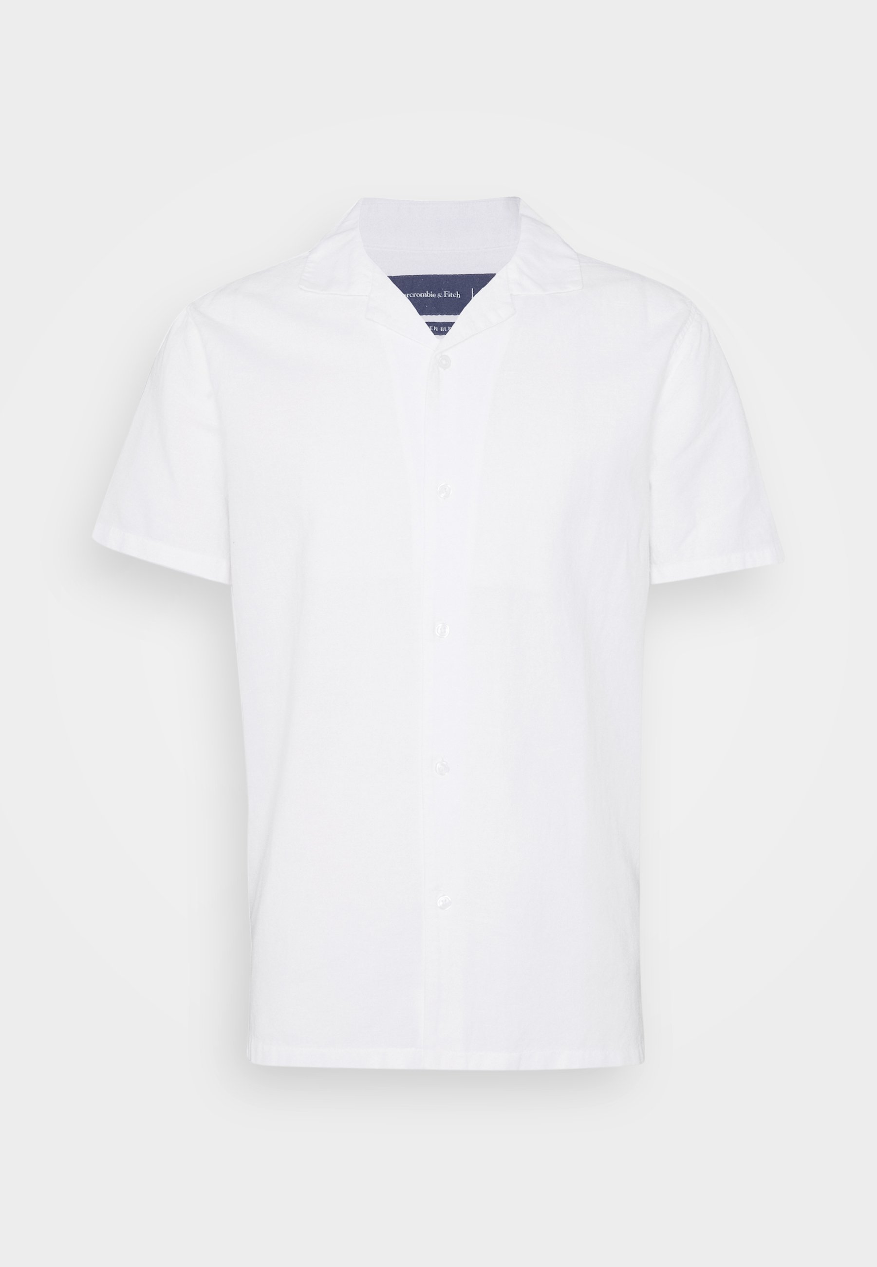 Abercrombie & Fitch SHORT SLEEVE - Chemise - solid white
