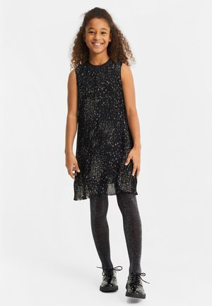 EN GLITTER DETAILS - Korte jurk - all-over print