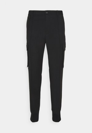 P-SONG TROUSERS - Kapsáče - black