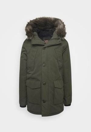EVEREST  - Winter coat - army khaki