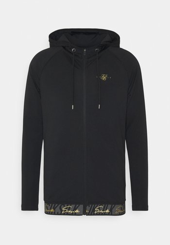 SCOPE TAPE ZIP THROUGH HOODIE - Zip-up sweatshirt - black