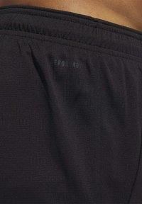 adidas Performance - ALL SET 2 DESIGNED2MOVE SHORTS - Shorts - black - 6