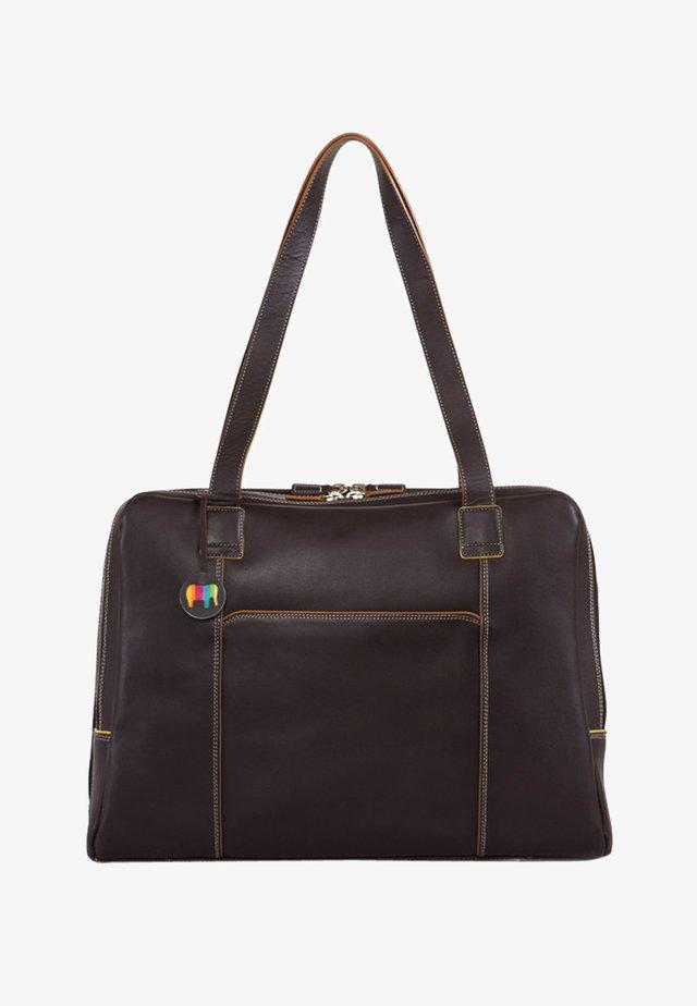 LARGE OFFICE ORGANISER - Briefcase - brown