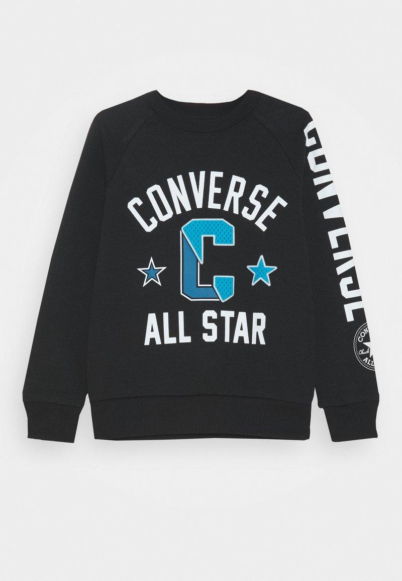 Converse - COLLEGIATE CREW - Sweatshirt - black