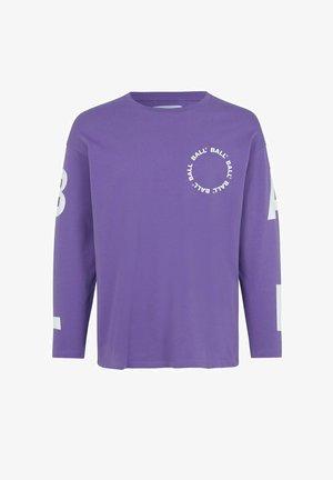 Topper langermet - purple
