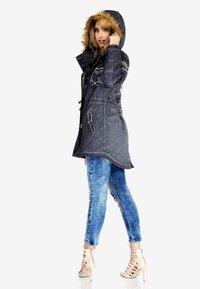 Cipo & Baxx - Winter jacket - anthracite - 5
