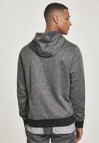 Southpole - HERREN MARLED TECH FLEECE FULL ZIP HOODY - Zip-up hoodie - marled grey - 1