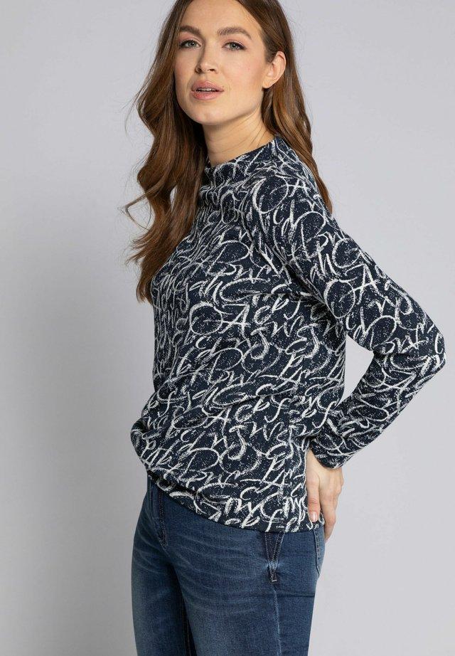 Sweater - navyblau