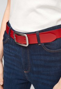 s.Oliver - Belt - red - 2