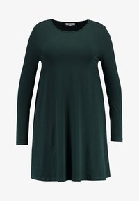 Zalando Essentials Curvy - Jersey dress - dark green - 4