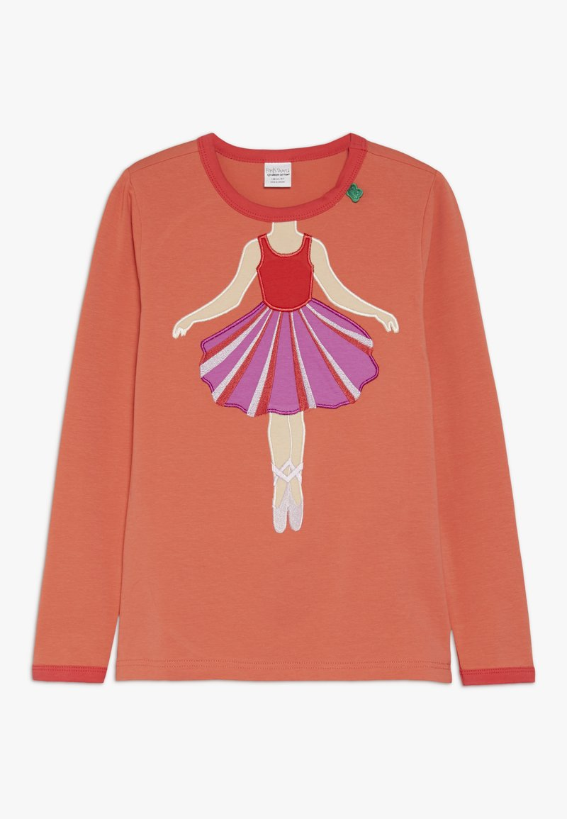 Fred's World by GREEN COTTON - HELLO BALLET  - Langærmede T-shirts - warm coral