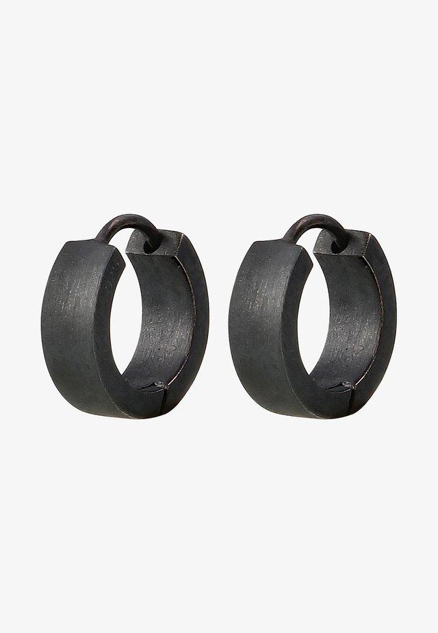 Boucles d'oreilles - black