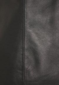 032c - QIPAO TOP - Blouse - black - 2