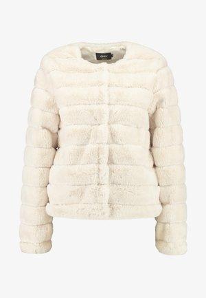 ONLVICTORIA JACKET - Winter jacket - pumice stone